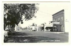 CALIFORNIA Gridley Main Street RPPC real photo postcard CA