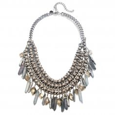 Opal and Shard Statement Necklace | Capwell + Co
