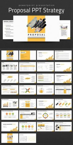 This 'Business Proposal Strategy PPT' is a presentation template designed with a concept of diagonal line patterns. Proposal is one of the important documents Free Business Proposal Template, Proposal Templates, Business Proposal Ideas, Presentation Layout, Presentation Templates, Presentation Slides, Event Proposal, Sales Proposal, Proposal Writing