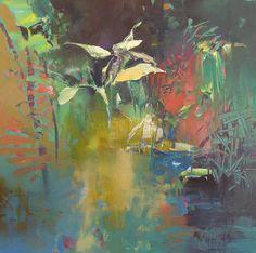 Painter's Process - Randall David Tipton: Edge of the Marsh