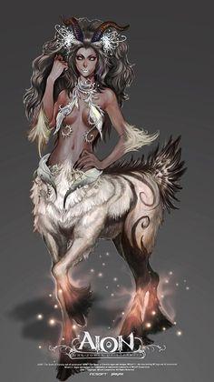 Aion snow centaur female