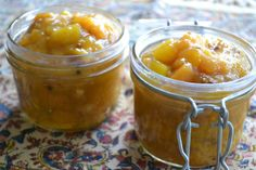 The View from Great Island | Spicy Mango Persimmon Chutney