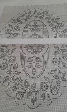 Crochet Dollies, Crochet Doily Patterns, Crochet Art, Filet Crochet Charts, Doilies, Table Runners, Needlework, Vintage World Maps, Cross Stitch