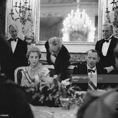 Queen Ingrid wore this tiara for a dinner during the Danish State Visit to Austria in 1962.