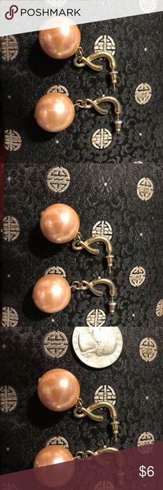 Costume pearl earrings Cute large earrings Jewelry Earrings