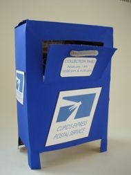 Make your own mail box for your post office unit!