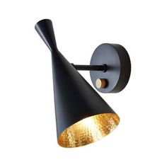 Buy Tom Dixon Beat Wall Light Black online with Houseology's Price Promise. Full Tom Dixon collection with UK & International shipping. Vintage Wall Sconces, Rustic Wall Sconces, Bathroom Wall Sconces, Vintage Walls, Indoor Wall Lights, Modern Wall Lights, Modern Lighting, Lighting Ideas, Tom Dixon Beat