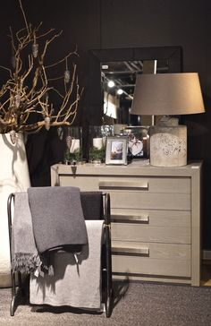 slettvoll13 The Farm, Interior Architecture, Interior Design, Dresser As Nightstand, Bedroom Inspo, Living Room Interior, Apartment Therapy, Bedside Tables, House