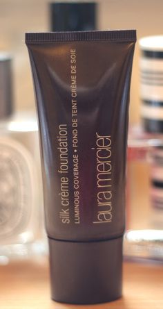 @LauraMercier silk creme foundation & was recc by @tanyaburr ! I think i must try it! :)