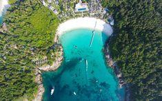 Seychelles areal view https://www.holidayfactors.com/seychelles/