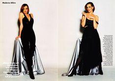 "Vogue Germany November 1992  ""Mode von Jil Sander: Moderne Allüre"" Model: Tatjana Patitz Photographer: Mario Testino"