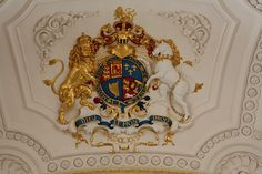 Royal Coat of Arms - St Martin-in-the-Field, Trafalgar Square, London