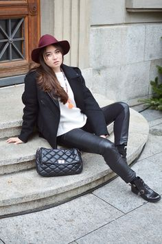 Blaastyle - Swiss fashion blog: Leathery Look