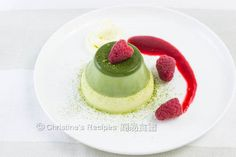 Green Tea Panna Cotta02