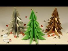 Miten saada joulukuusi paperista ilman liimaa. - YouTube