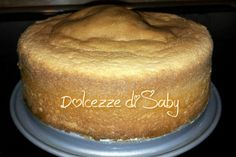 Pan di spagna senza lievito sofficissimo