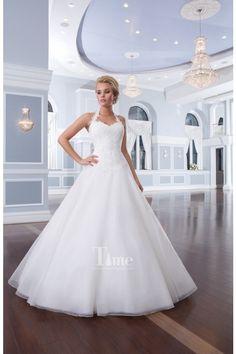 463 best Halter Wedding Dresses images on Pinterest | Bridal gowns ...
