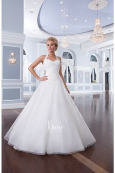 Simple Ball Gown Sweetheart with removable Halter Neck Strap Wedding Dresses/Bridal Gowns 2014 New Arrival WD144092