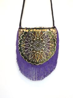 Bohemian bag Gypsy Bag Mandala Bag Hippie by allthingsoldarenew