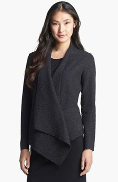 Eileen Fisher Lightweight Boiled Wool Jacket available at #Nordstrom $318