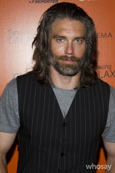 Anson Mount with those beautiful green eyes