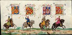 Artist: various, Title: »Triumphzug Kaiser Maximilians« Page 54, Date: 1526