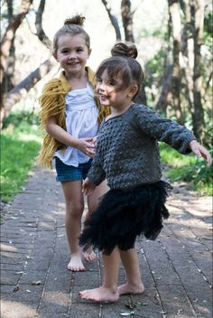 Bare feet, tutus and awesome knits. Misha & Puff is the latest label addition to the tinypeople store and we love it teamed with this Tutu Du Monde skirt. Cool Kids Clothes, Cute Baby Clothes, Munster Kids, Misha And Puff, Louise Misha, Baby Girl Winter, Beautiful Outfits, Knits, Cute Babies