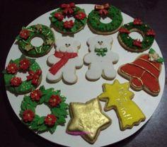 biscoitos de natal decorados - Pesquisa Google