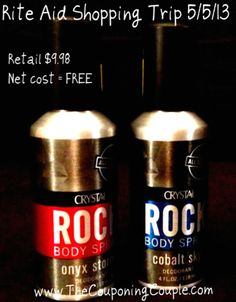 Rite Aid Shopping 5/5/13 - Got my free deodorant! - The Couponing Couple