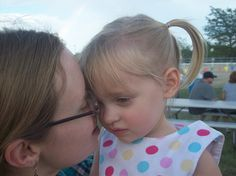 My Daughter in Law Kim with my Granddaughter Teagan. :)