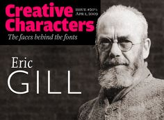 Eric Gill has never been easy to pigeonhole: a socialist Catholic, a spiritually minded family man, a keen and active admirer of female and typographic curves alike. For many decades, Gill — a stonecarver, graphic artist, type designer and writer — has been one of the most fascinating figures on the British design scene