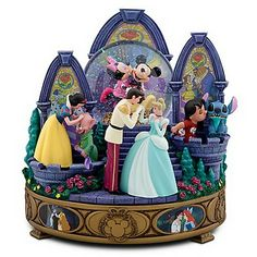 Disney Kisses Snow Globe features kissing scenes from Disney's most memorable films.