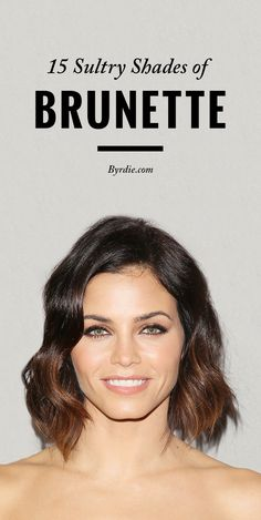 The best shades of brunette hair