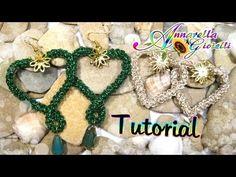 Cuori all'#uncinetto con spighetta rumena #crochet #faidate #Christmas #gift