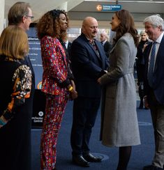Duke and Duchess of Cambridge in Manchester on CGM Summit