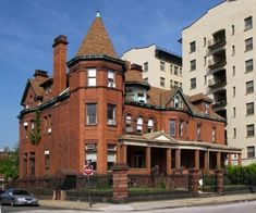 Historic Emerson Mansion, built by Bromo-Seltzer Inventor ...