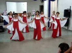 Resultado de imagem para roupas para dançar na igreja