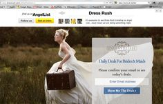 DressRush.com Pitch Deck