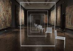 Mimicry Chairs by Nendo at the V - courtesy LDF/V