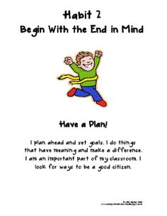 Beginning with the end in mind isn't just useful for teachers! 7 habits of successful students by Third Grade Bookworm.
