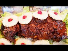 PIERNA RELLENA ADOBADA DELICIOSA Y MUY FÁCIL!| RECETA NAVIDEÑA😘 - YouTube Relleno, Meatloaf, Mashed Potatoes, Hamburger, Steak, Beef, Ethnic Recipes, Food, Youtube