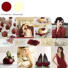 Cranberry + Cheesecake... YUM  http://www.theperfectpalette.com/p/color-palettes_17.html