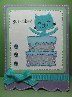 Cricut Birthday Bash - cat & cake