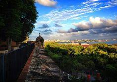 Bastión de las Palmas de San José, San Juan Puerto Rico