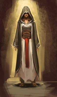 female assassin by ~sketcheth on deviantART. AaAAAAHHH I love this!