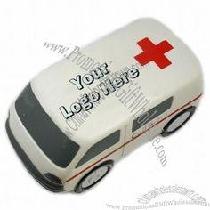 Ambulance 911 Car Stress Ball Factory Direct #302328984