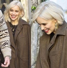 Emilia Clarke. There seriously isn't a photo I don't think 'yep, I'd go full on gay for her'