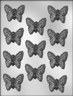 CK Products 2-Inch Butterfly Chocolate Mold: Amazon.com: Kitchen & Dining