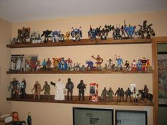 Fun Shelves for Toy Collector | Do It Yourself Home Projects from Ana White