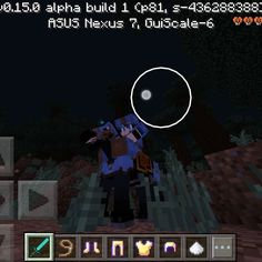 Me and my blue horse lol #horse #Minecraft
